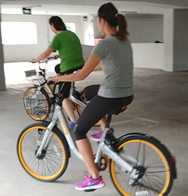 cycling lesson